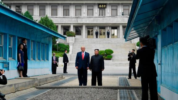 Trump became the first sitting US president to step into North Korea on Sunday, June 30.