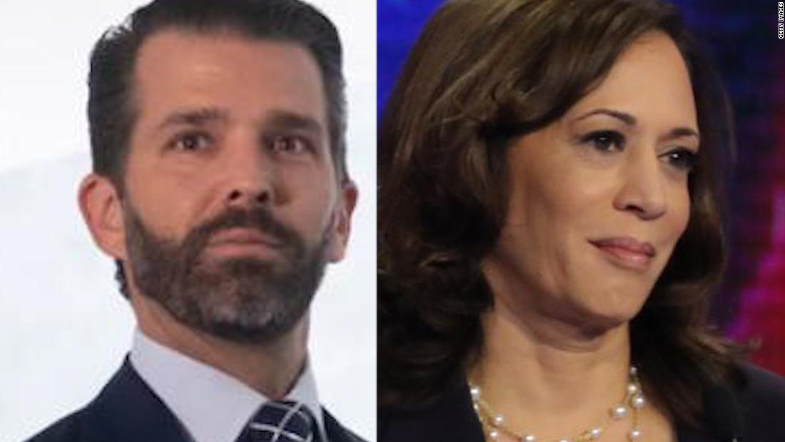 How Kamala Harris conspiracies festered online before making it to Trump Jr.