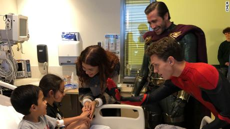 'Spider-Man' stars are do-gooders in real life, too