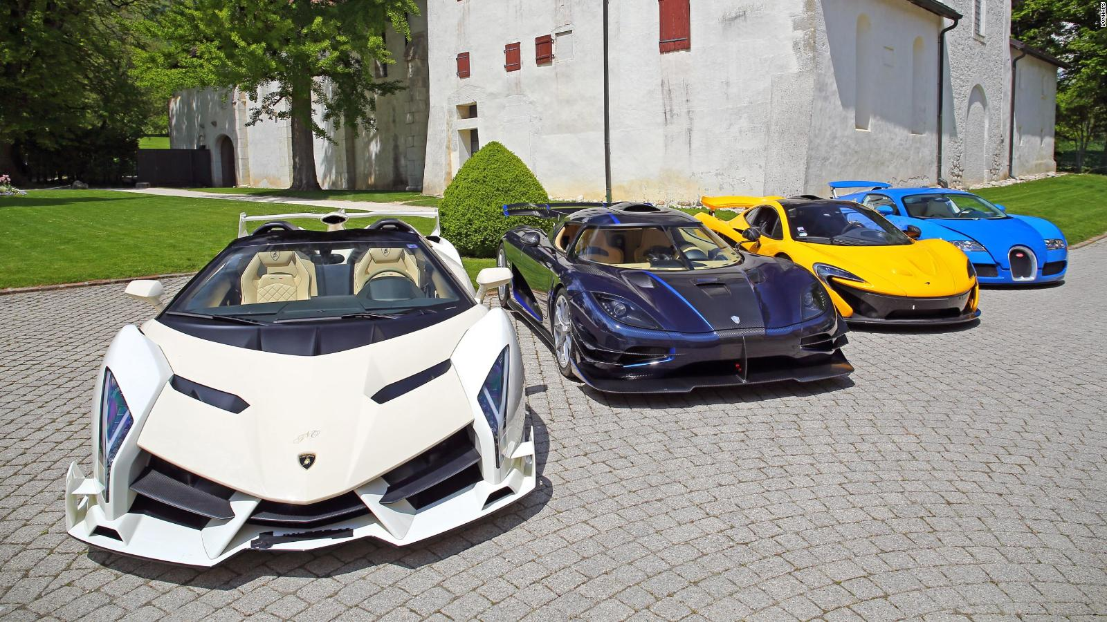 Politicians seized 13 million supercar collection to be