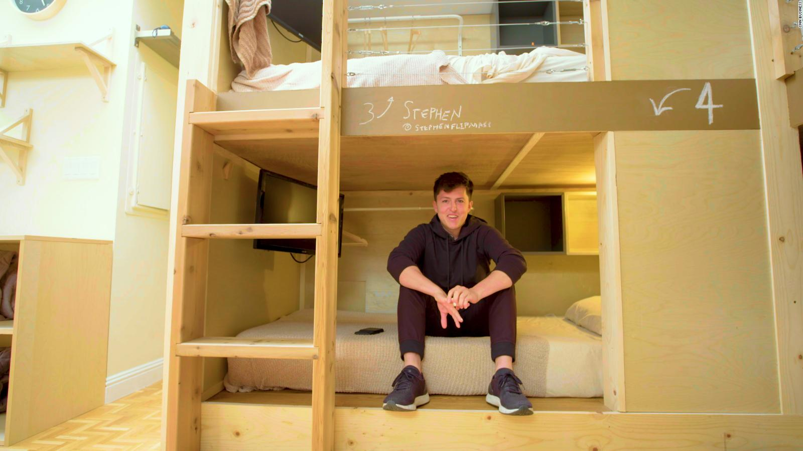 This Bunk Bed In San Francisco Rents For 1 200 A Month Cnn Video