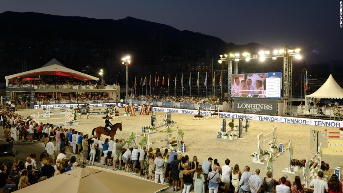 The glitzy riviera resort of Monaco held the 10th and halfway stop of the Longines Global Champions Tour and Global Champions League.
