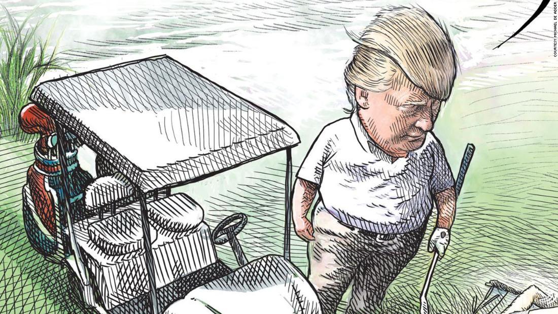 Trump cartoon: Canadian cartoonist Michael de Adder loses job after