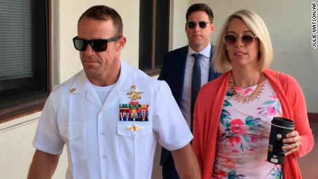 Navy SEAL Eddie Gallagher sentenced to reduction in rank and partial pay