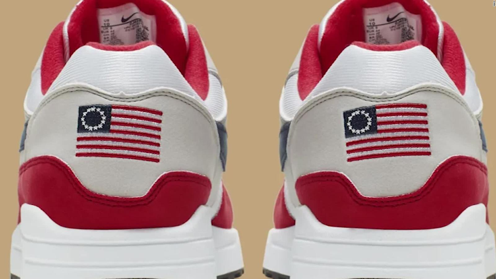 Nike featuring Betsy Ross flag canceled