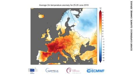 Last month broke the record for hottest June ever in Europe and around the world