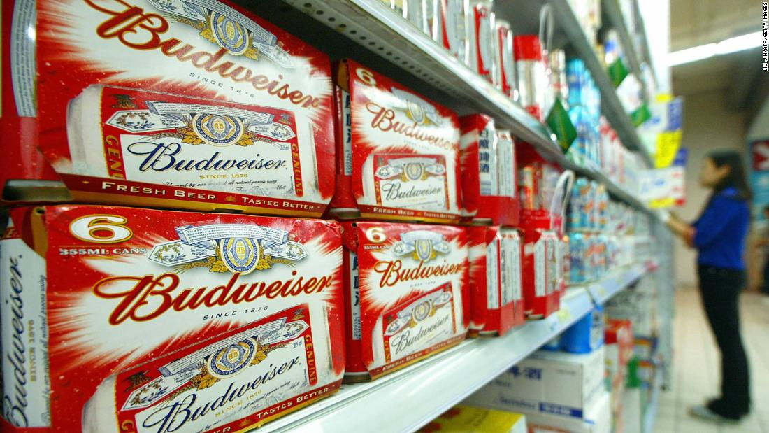 The Budweiser beer empire was built on debt. Now it's racing to pay it off