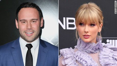 Taylor Swift Speaks Out About Scooter Braun S Sale Of Her Master Recordings Cnn