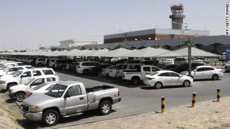 Abha airport in southwestern Saudi Arabia, pictured on Tuesday.