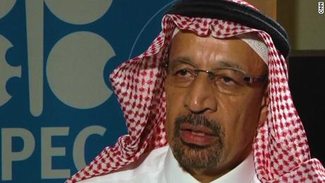Khalid al-Falih was ousted as chairman of the giant state-owned oil company Saudi Aramco last week.