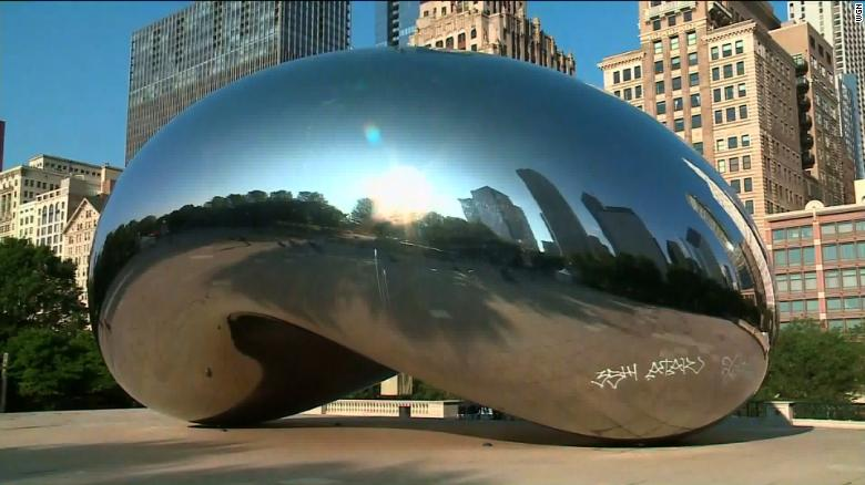 7 people charged after Chicago 'Bean' vandalized, police say