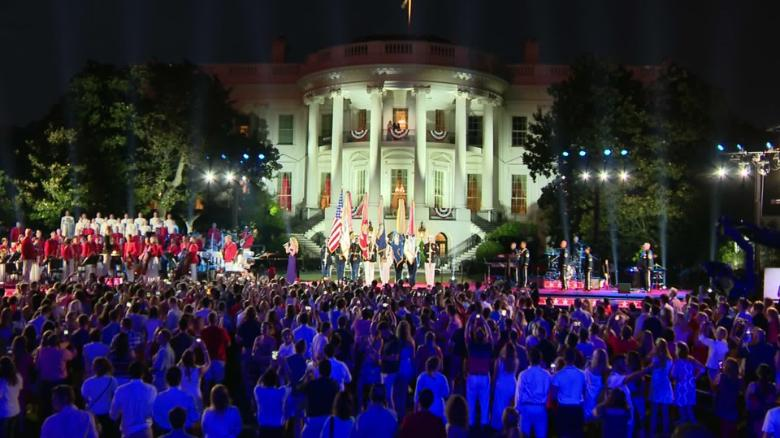 donald trump 4th of july 2020