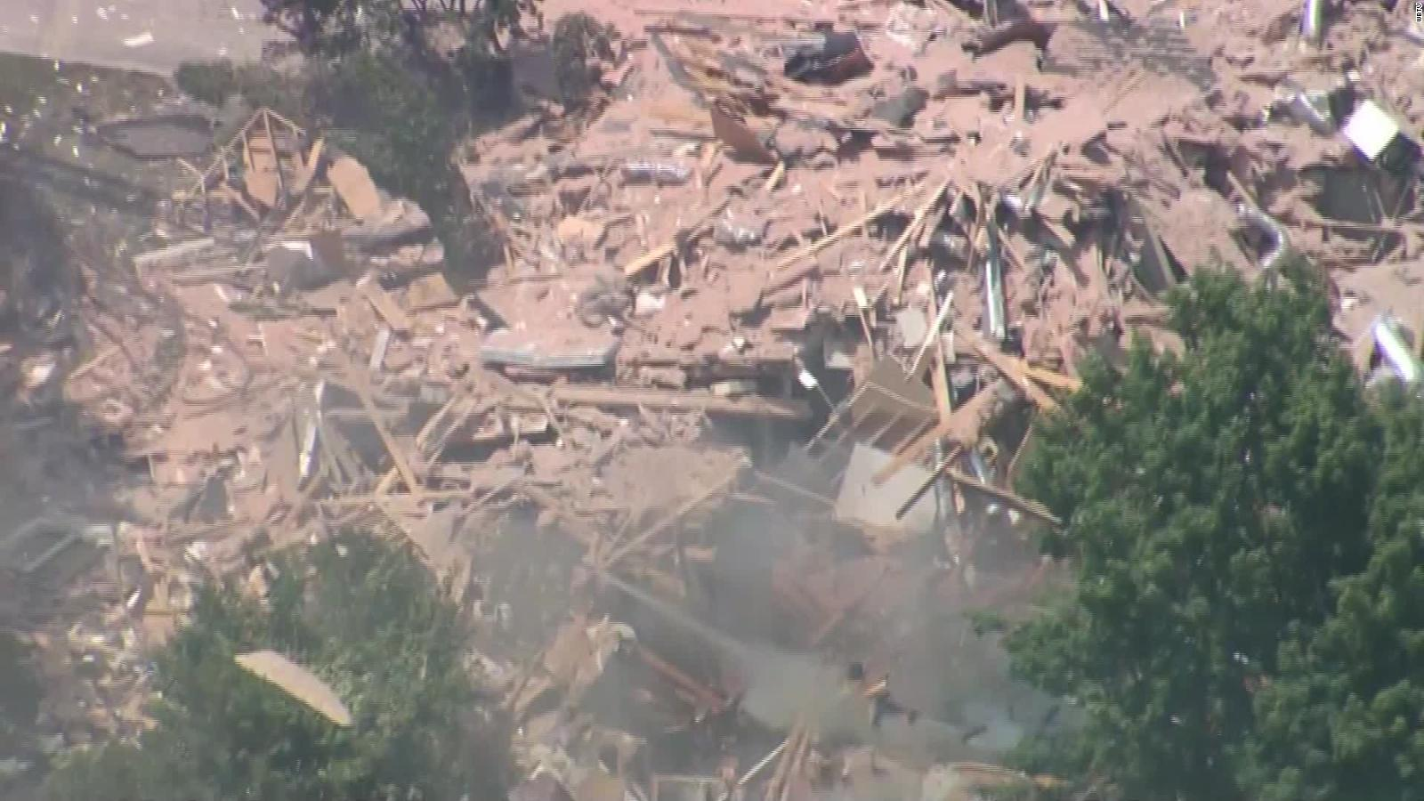 Explosion levels home in North Carolina