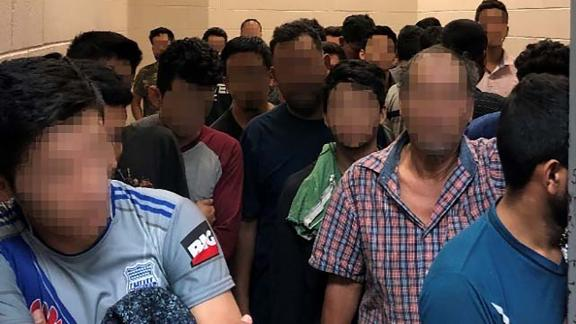 Standing room only for adult males observed by OIG on June 10, 2019, atBorder Patrol