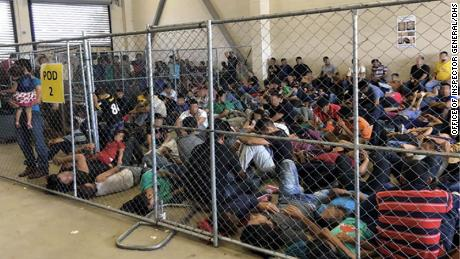 Watchdog finds extreme overcrowding in Border Patrol facilities in unannounced inspections