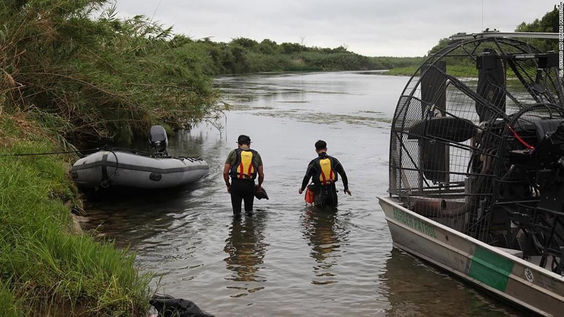 Authorities search the Rio Grande for missing 2-year-old