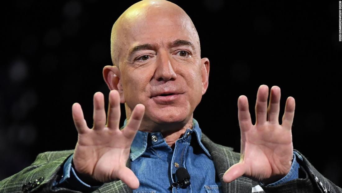Jeff Bezosは、豊かな人世界全体の