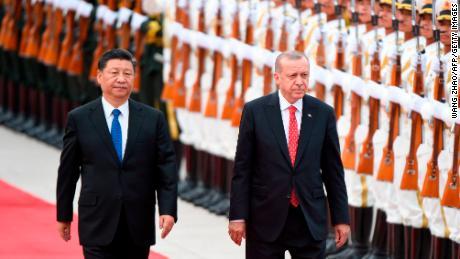Erdogan says Xinjiang camps shouldn't spoil Turkey-China relationship
