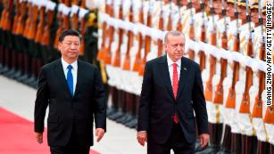 Erdogan says Xinjiang camps shouldn't spoil Turkey-China relationship