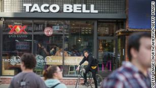 Some Taco Bell restaurants face tortilla shortages