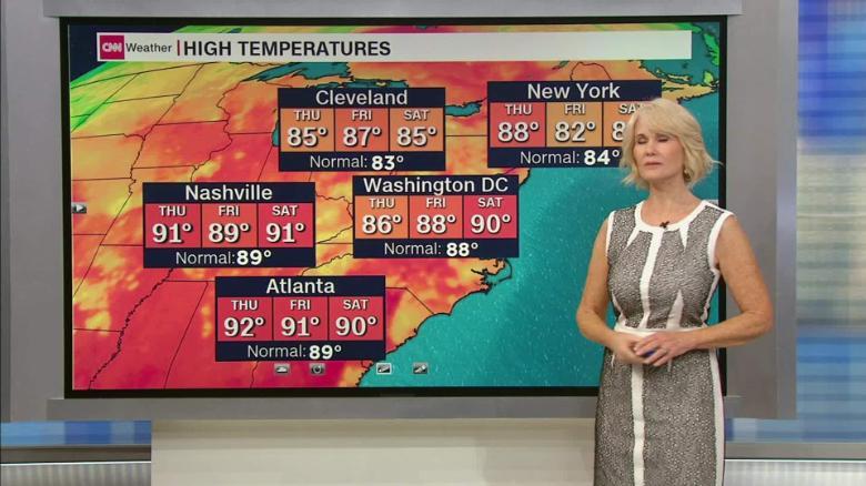 nashville weather in july