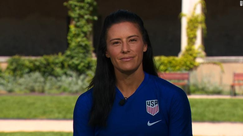 ผลการค้นหารูปภาพสำหรับ Megan Rapinoe's teammate Ali Krieger on President Trump: 'I refuse to respect a man that warrants no respect'