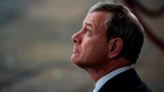 U.S. Supreme Court Chief Justice John G. Roberts, Jr. waits for the arrival of former U.S. President George H.W. Bush at the U.S Capitol Rotunda on December 03, 2018 in Washington, DC. (Jabin Botsford - Pool/Getty Images)