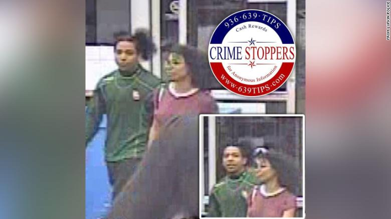 Lufkin Police issued a Crime Stoppers alert for the Walmart shoppers.