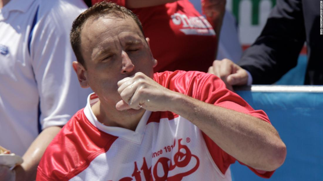 Joey Chestnut and Miki Sudo defend titles at 2019 Nathan's Famous hot dog eating contest