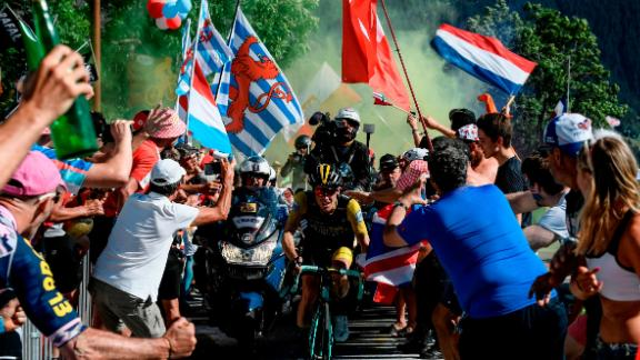 Cycling fans will pack the roadsides of this year