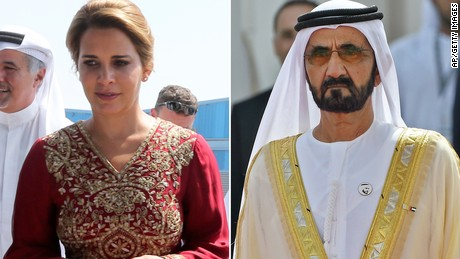 The ruler of Dubai sues the wife of Princess Haya in Great Britain her and the Supreme Court