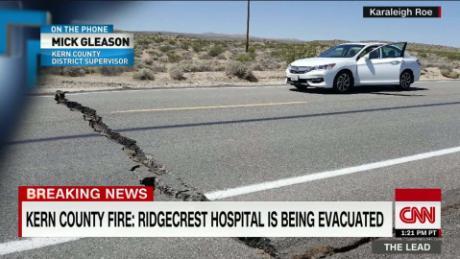 California official describes damage from 6 4 earthquake