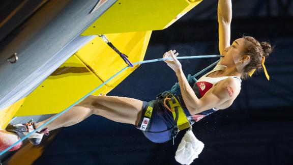 Kim has won the world championship and multiple Asian titles, but faces a new challenge in 2020 when sports climbing debuts at the Tokyo Olympic Games.