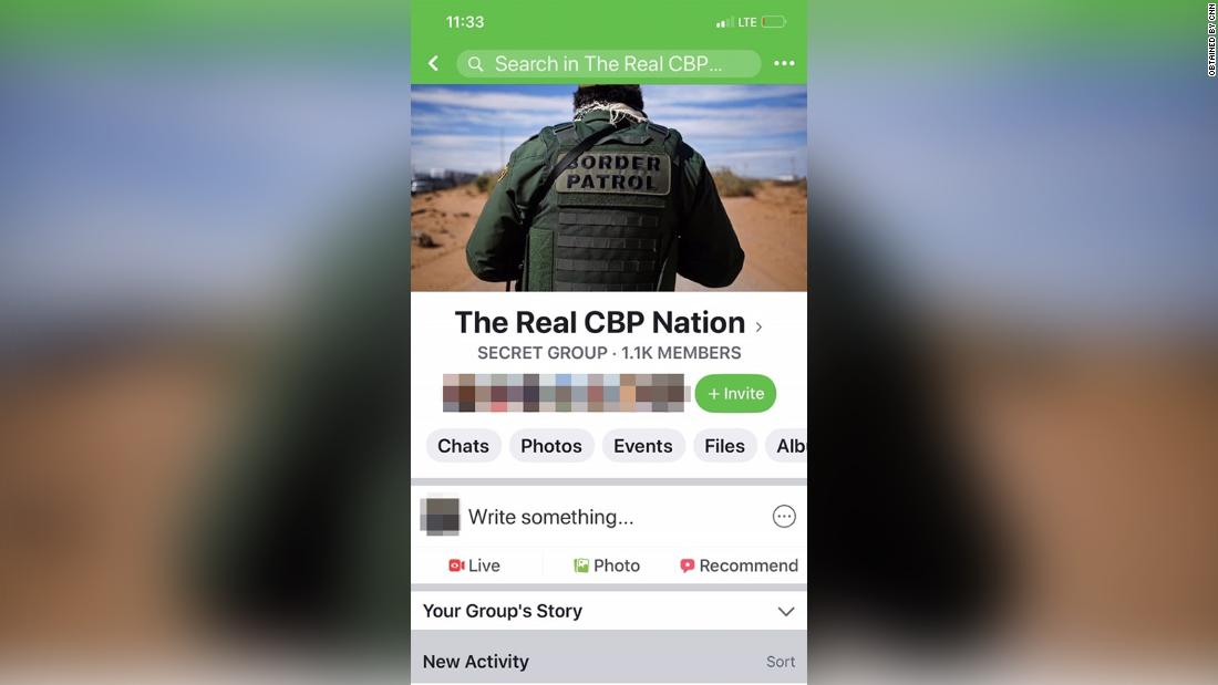 70 current and former US border employees connected to Facebook groups with lewd and mocking posts