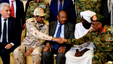 Sudan celebrates end of political stand-off