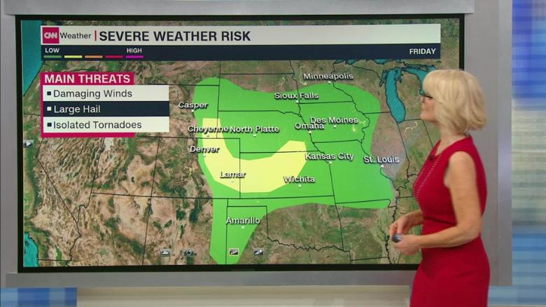 First weekend in July brings soggy conditions for many
