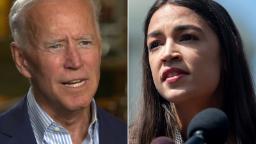Alexandria Ocasio-Cortez to co-chair Biden campaign climate task force