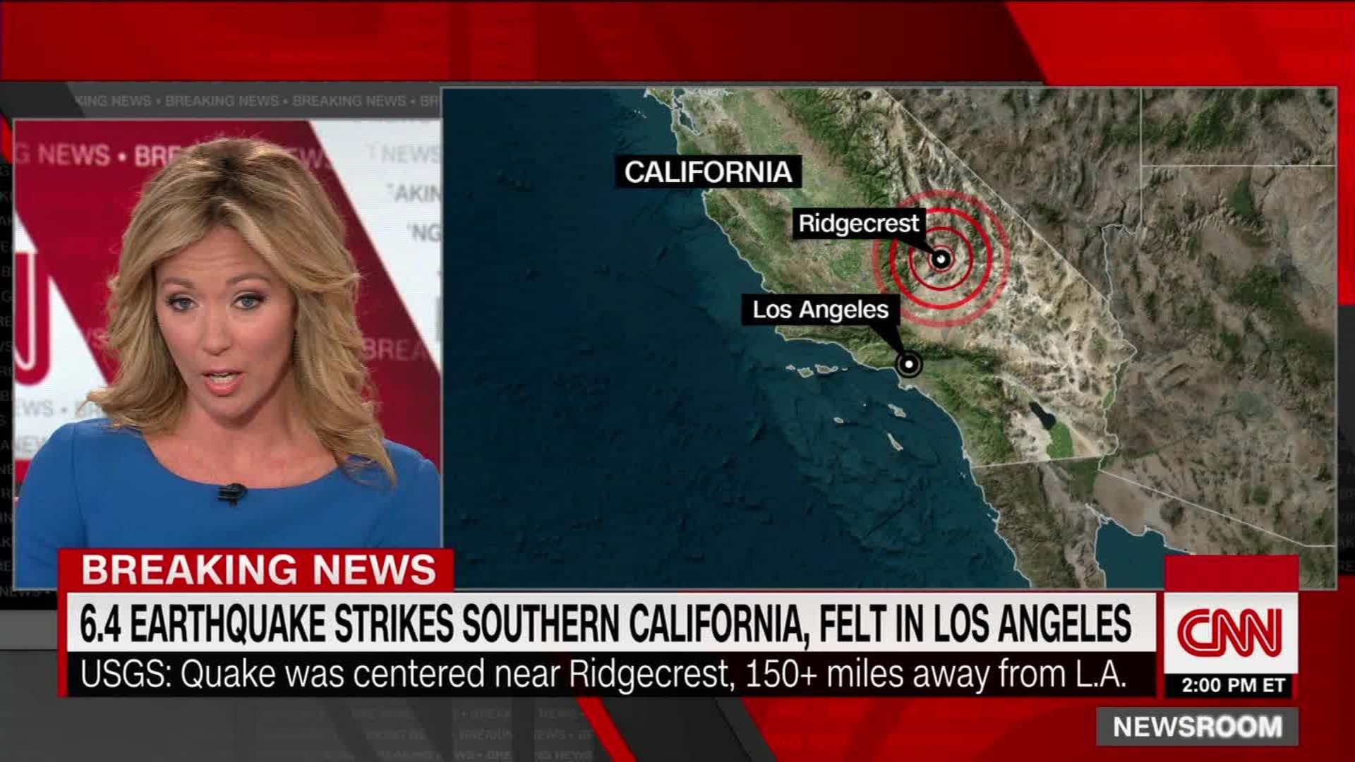 Man describes ride at Disneyland during 7 1 earthquake - CNN