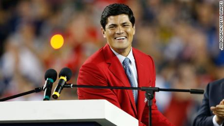 Tedy Bruschi suffered a stroke Thursday, his family said in a statement. He's recovering in a Massachusetts hospital.