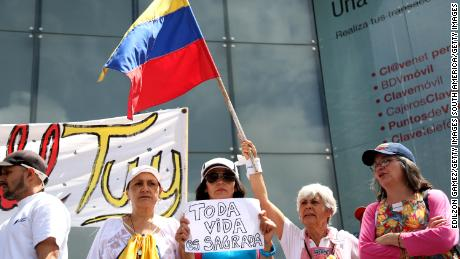 Venezuelans protest after UN report alleges deaths and cover-ups