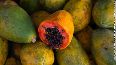 The CDC says a salmonella outbreak in 8 states appears linked to Cavi brand papayas