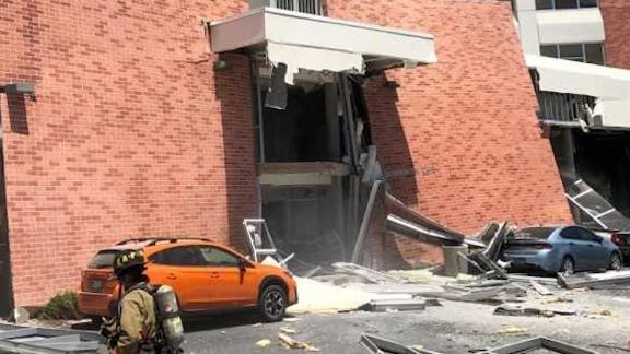 Explosion damages dorms at University of Nevada, Reno campus