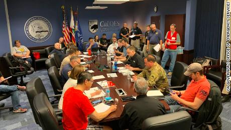 State leaders of emergency management are coordinating mutual aid and regional response from State Operations Center - focused on meeting the need in the Ridgecrest / Kern Co area.