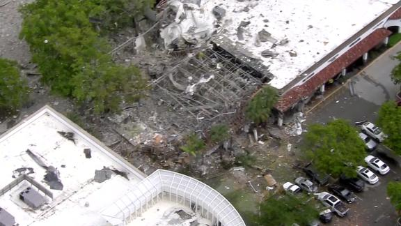 gas explosion aerial wplg