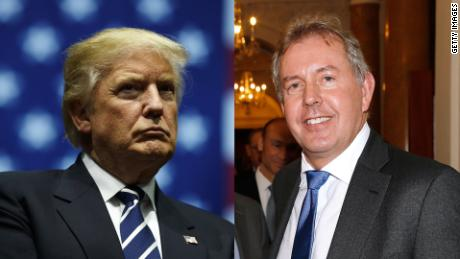 Trump says he will no longer deal with UK ambassador who labeled him 'inept'