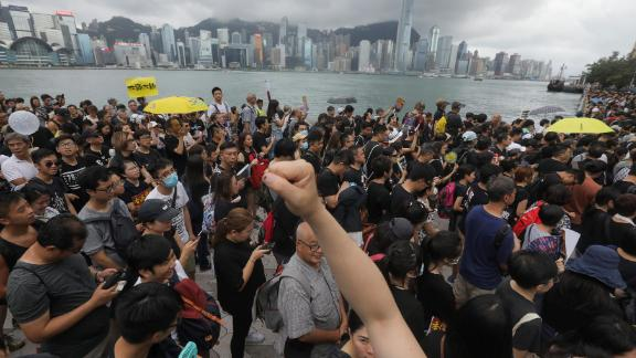Sunday marked the first time the extradition bill protests took place in Kowloon.