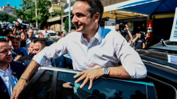 Kyriakos Mitsotakis has pledged to rebrand Greece and change its image as Europe's problem child.