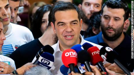 Alexis Tsipras' Syriza party was elected on an anti-bailout platform and a pledge to end austerity.
