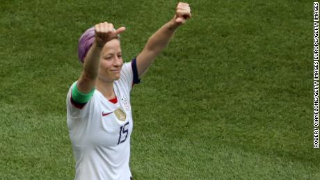 'We're crazy, that's what makes us special,' says Megan Rapinoe