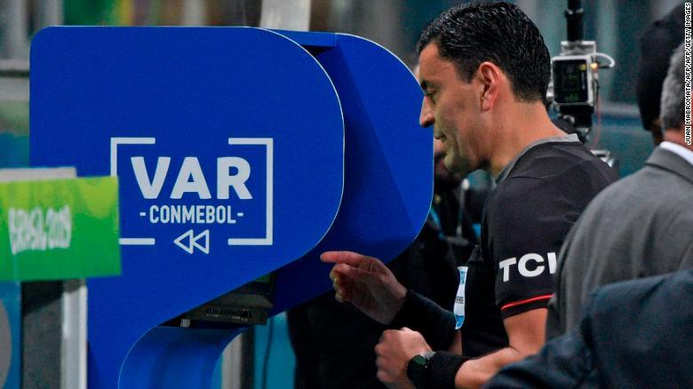 ผลการค้นหารูปภาพสำหรับ Has football gone too VAR?